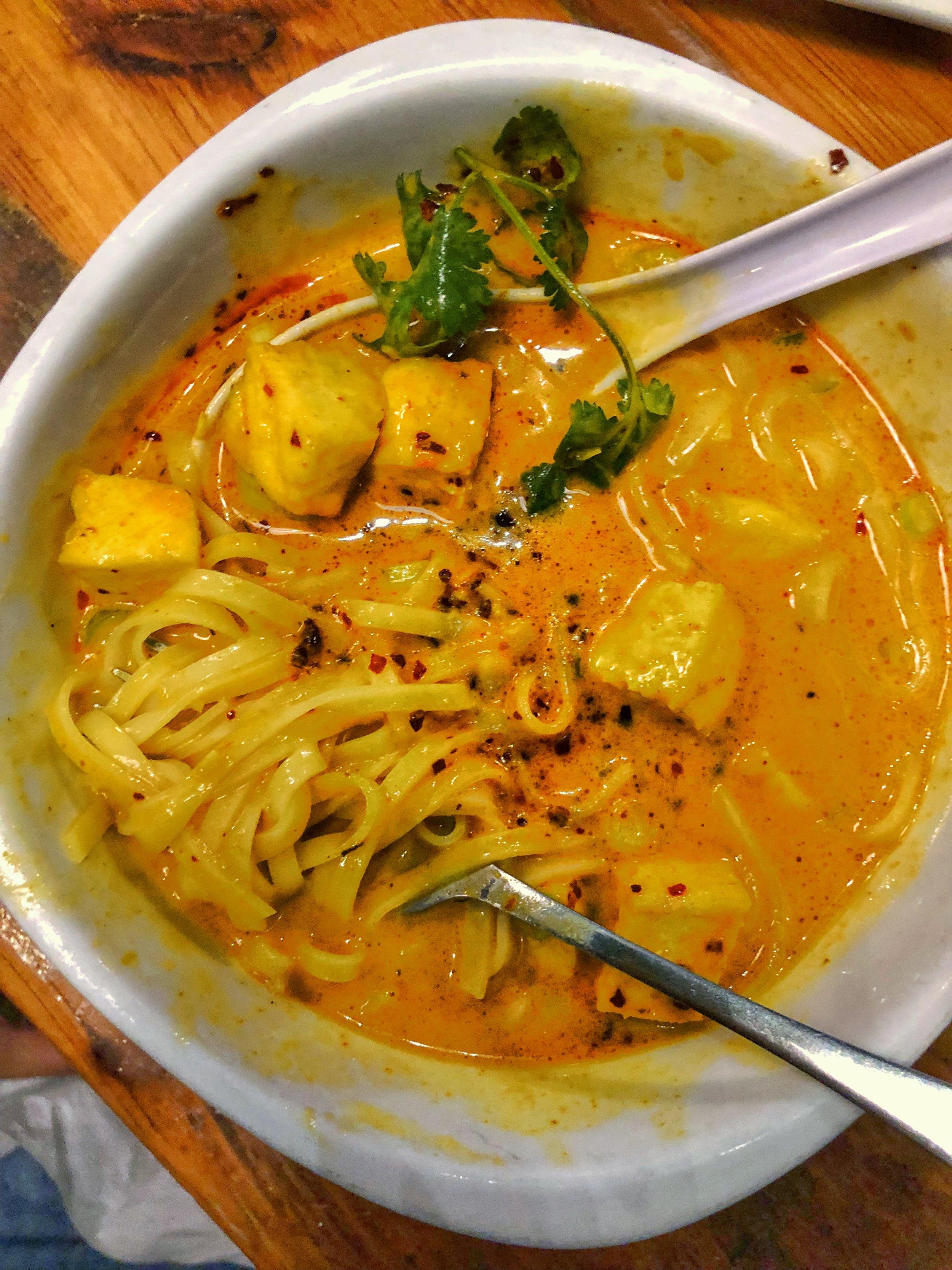 Vegan Khao Soi