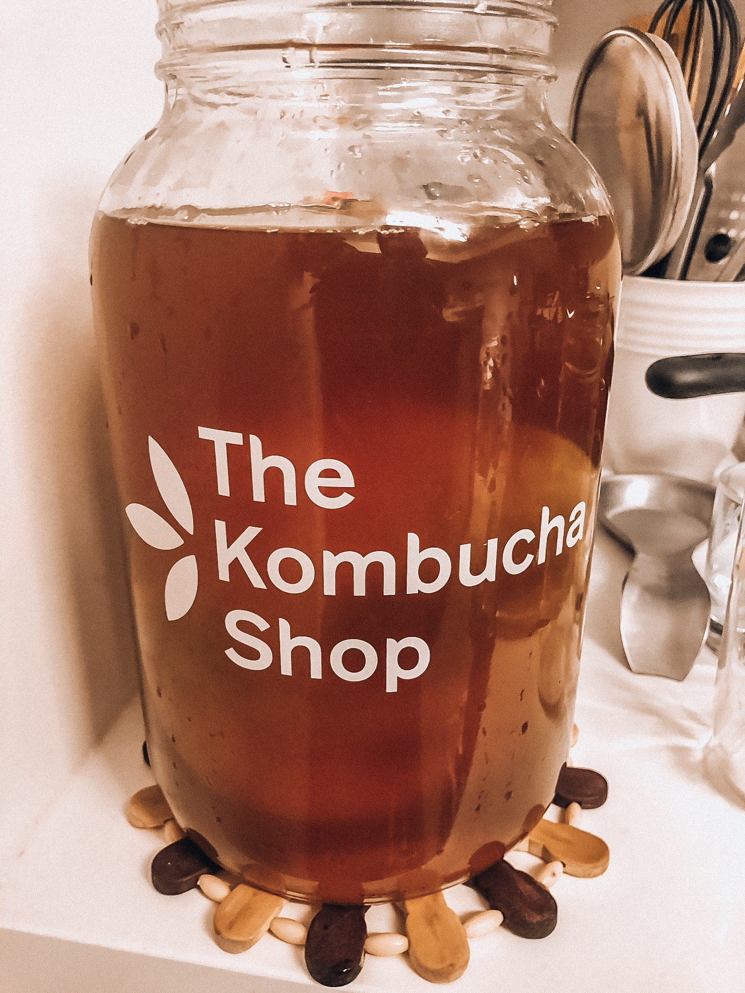 Brewing my own Kombucha