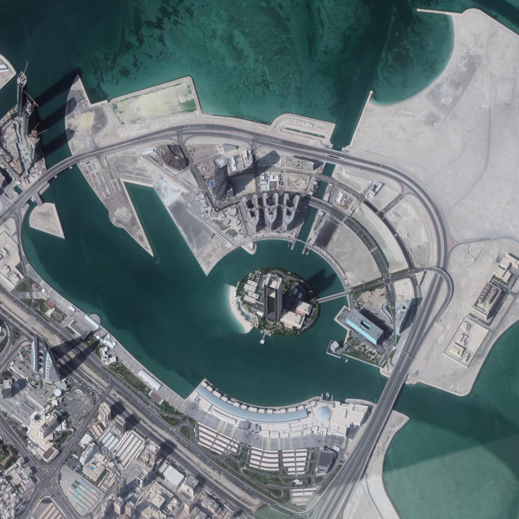 Bahrain Bay Master Plan - while @ SOM
