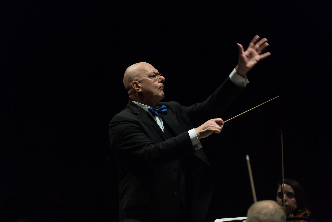 Conducting The Orchestra Now - Photo by Matt Dine