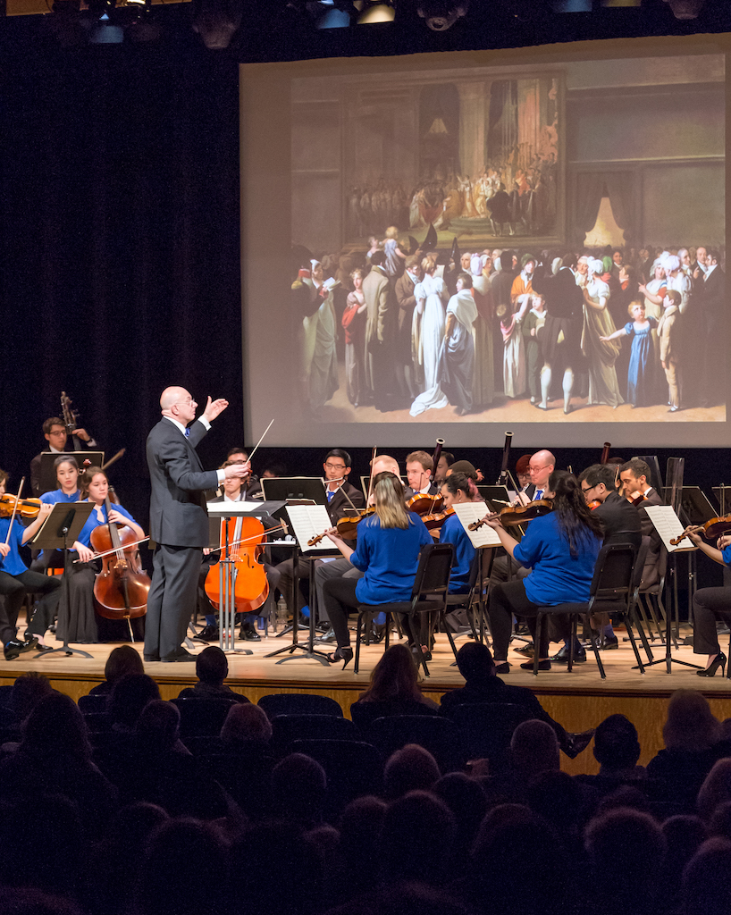 Conducting The Orchestra Now at The Metropolitan Museum of Art - Photo by David DeNee
