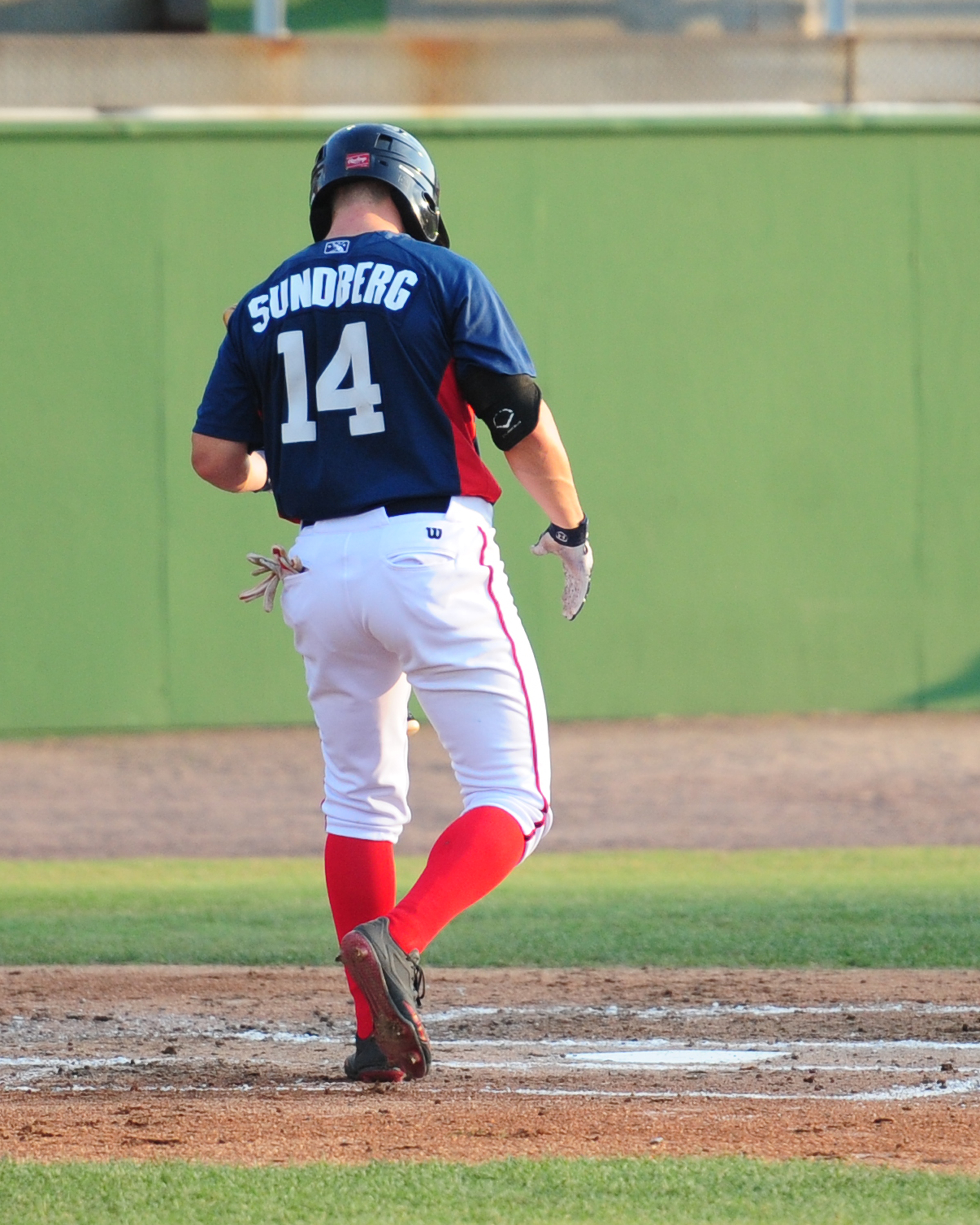 Jack Sundberg received the Potomac Nationals Offensive Co-Player of the Month in August 2017. He also received the team's Heart and Hustle Award in 2018. -