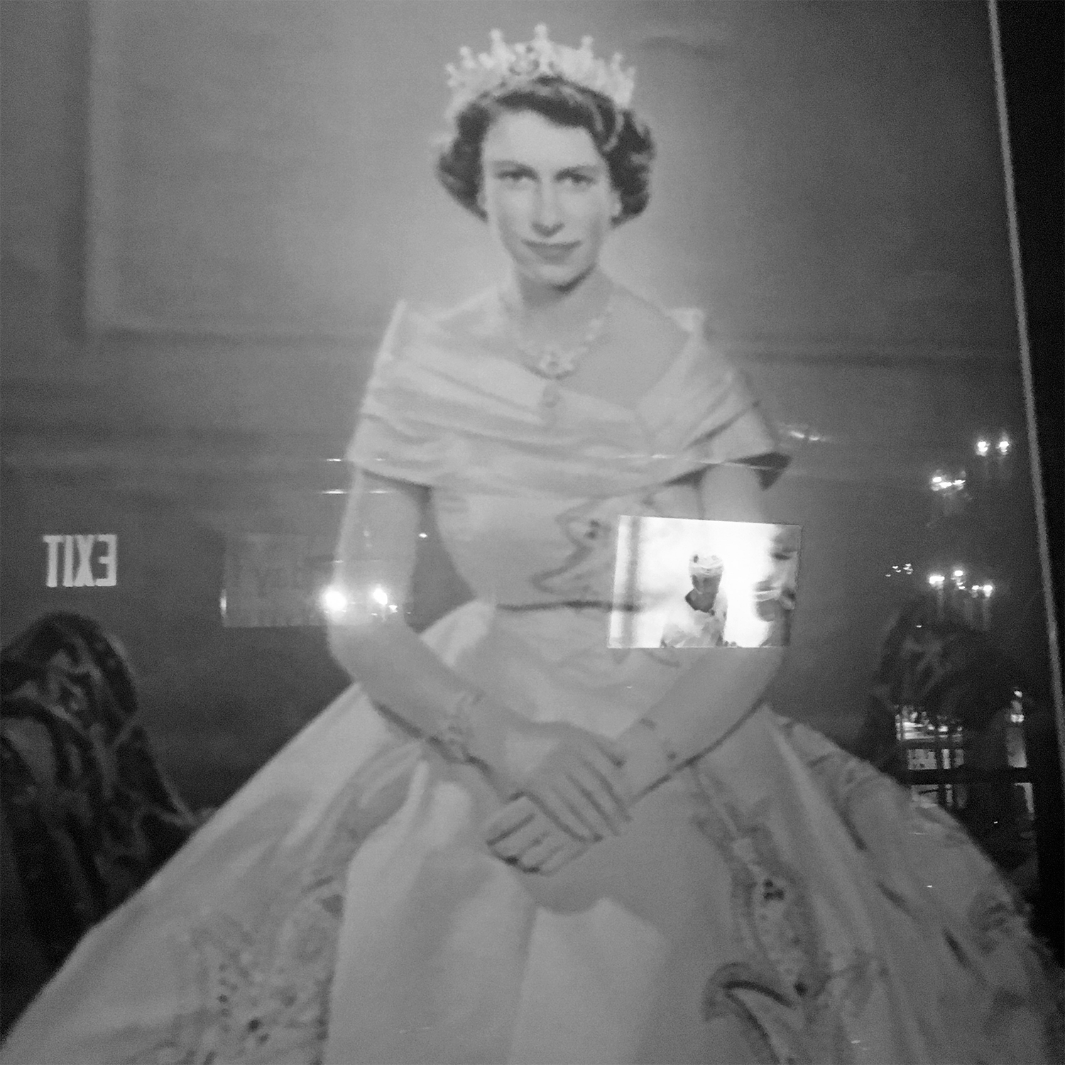 Reflection: Portrait of the Queen