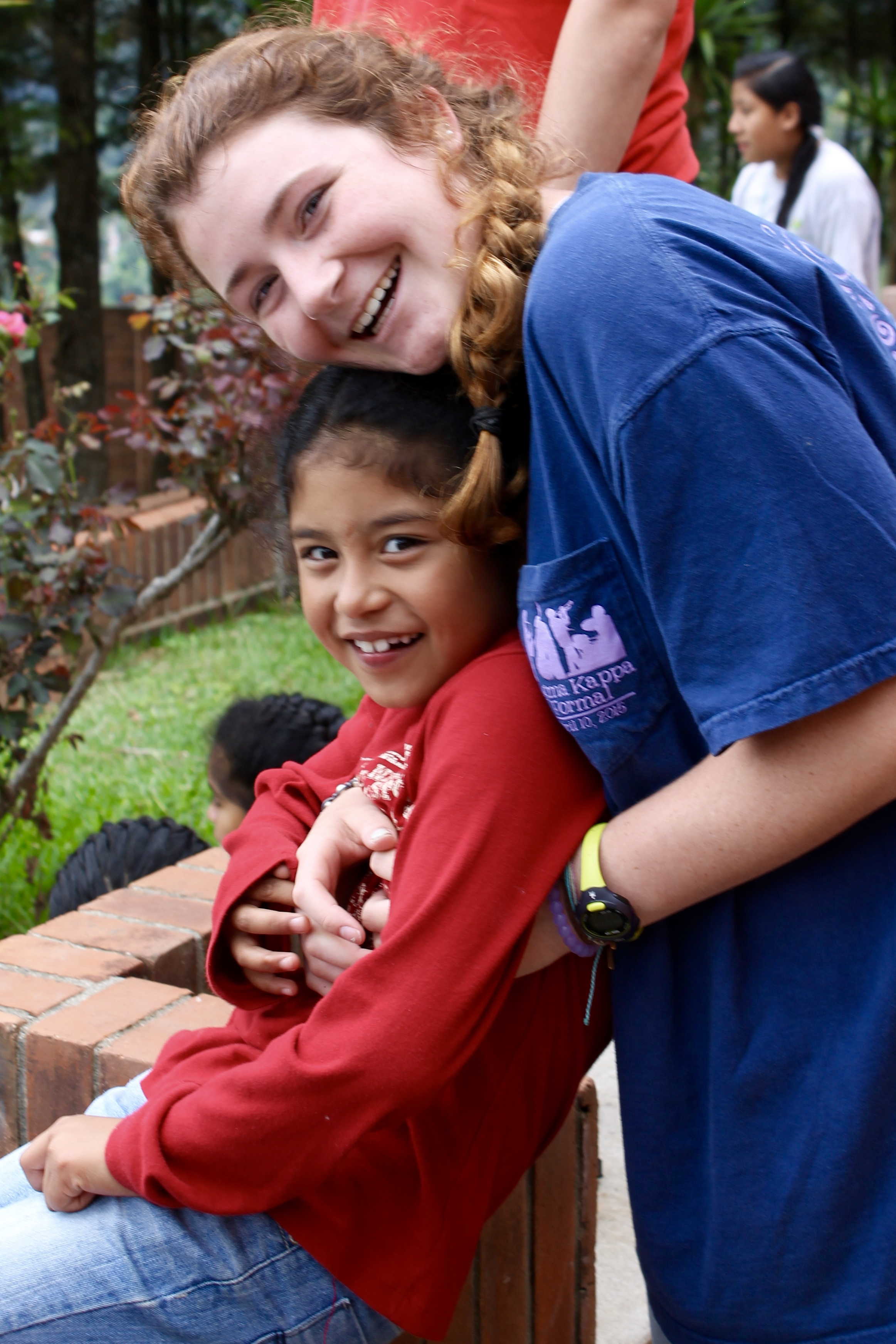 """""""I feel blessed to have met these children. The people at Valley have opened my heart and given me a new perspective on life."""" –Maggie V."""