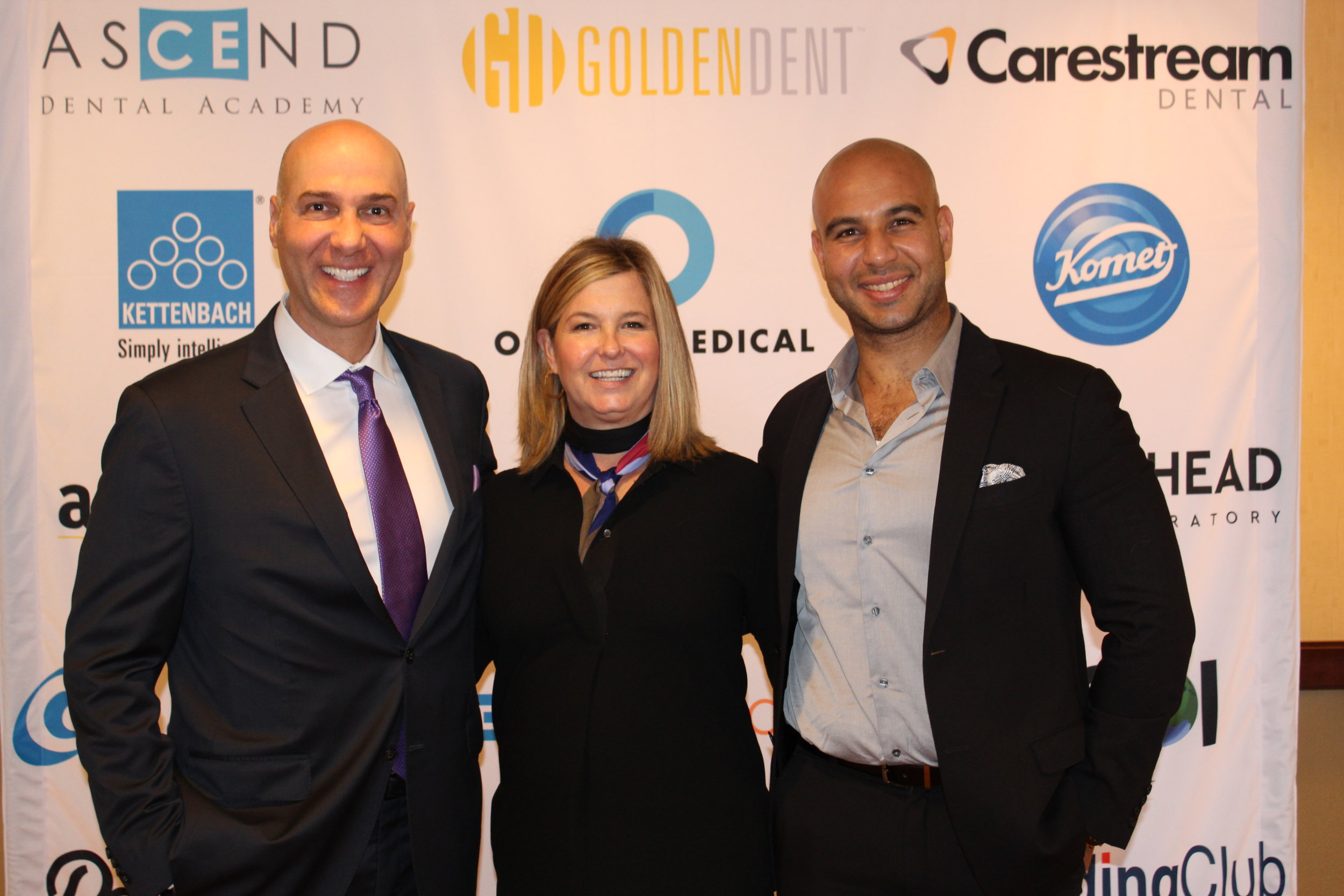 Dr. Ara Nazarian, Jan Martin, and Frank from 3DDX