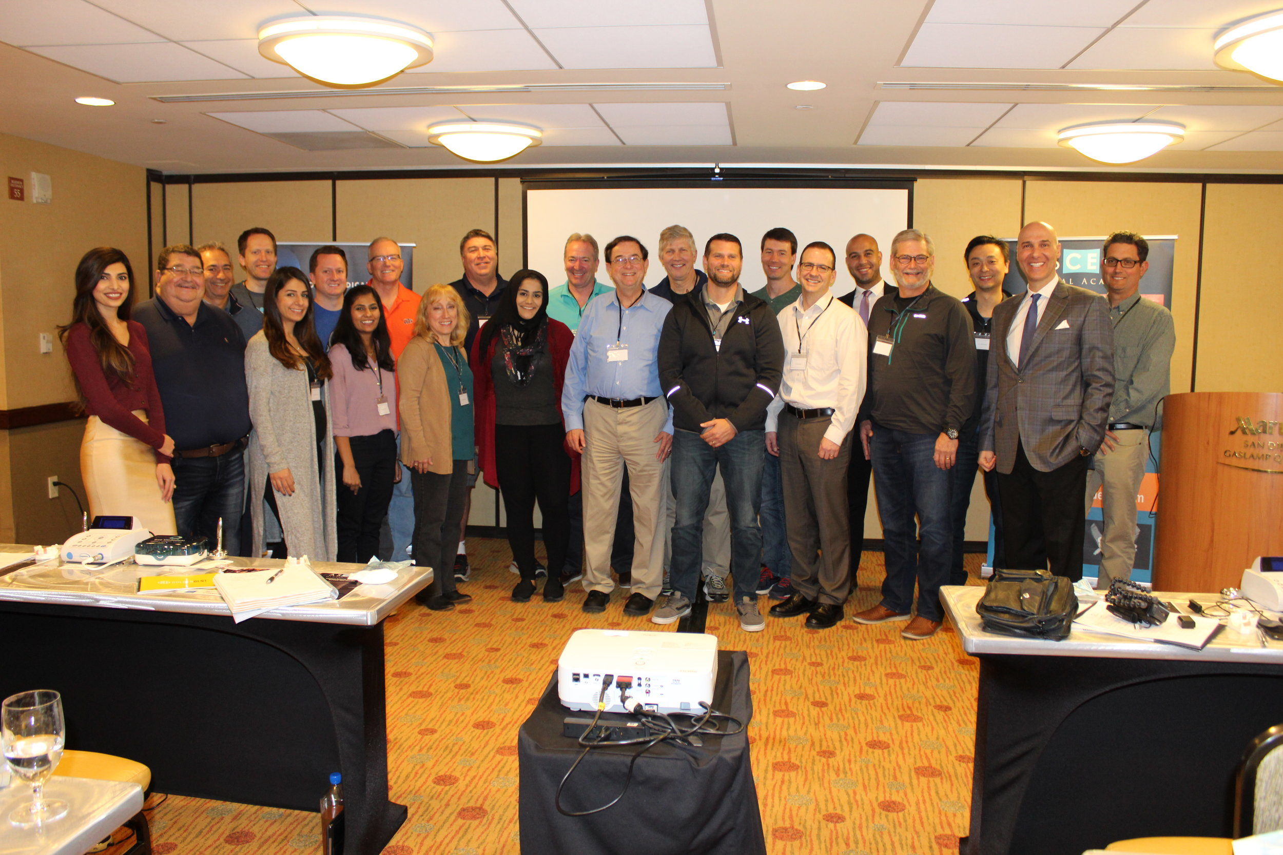 Module 1 & 2 Attendees in San Diego, CA, February 9-10, 2018