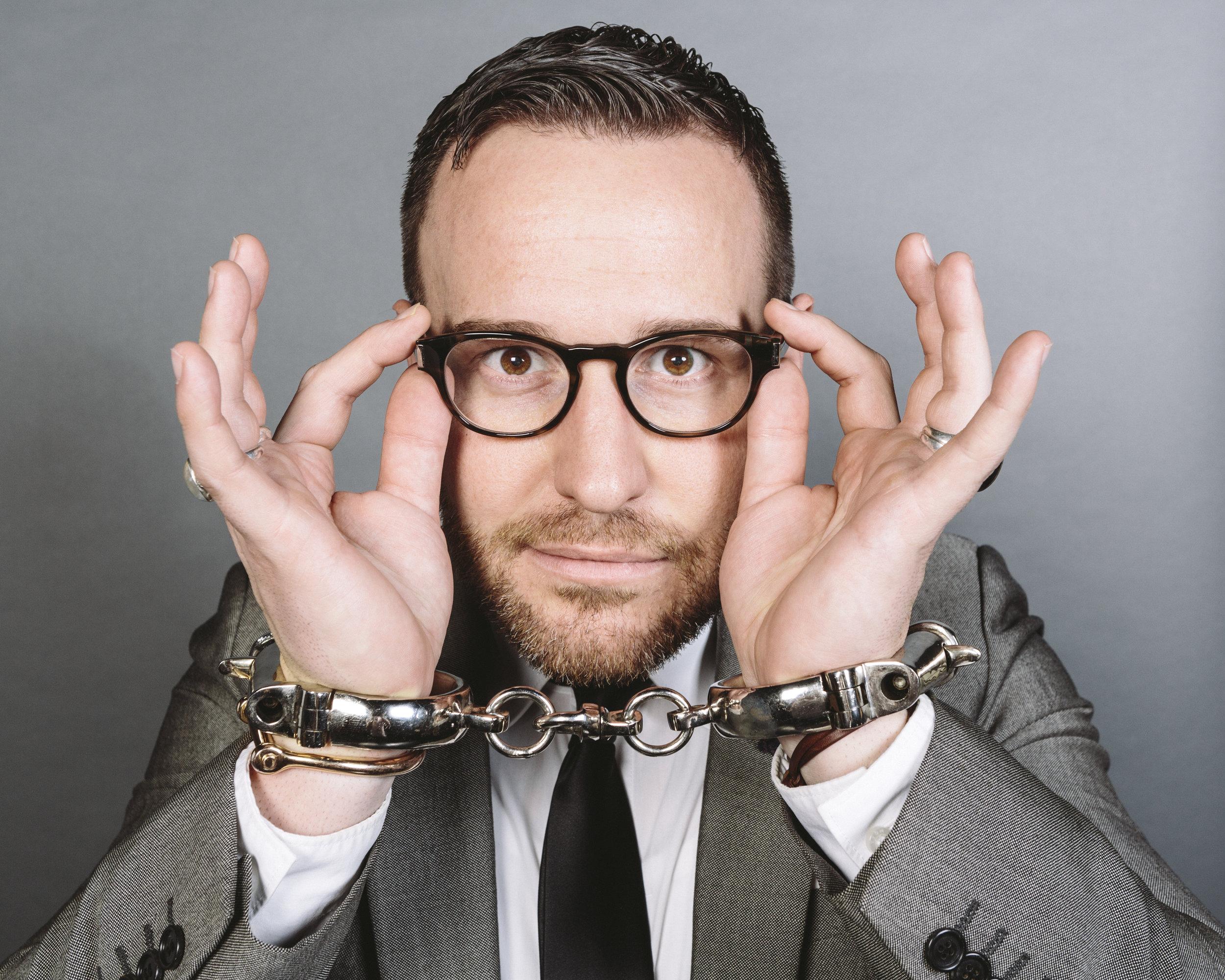 Scott is the film's magic consultant and main collaborator.