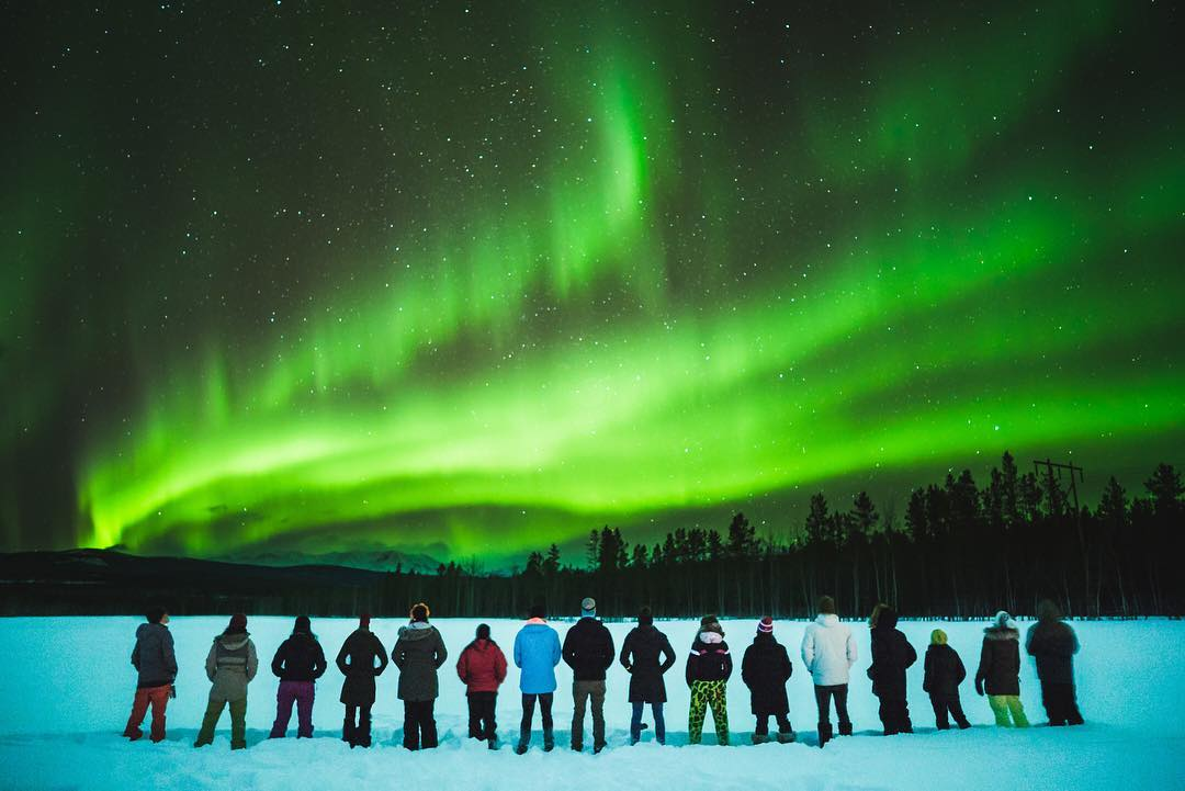 Who wants to chase the auroras… - 60 people: absolutely.