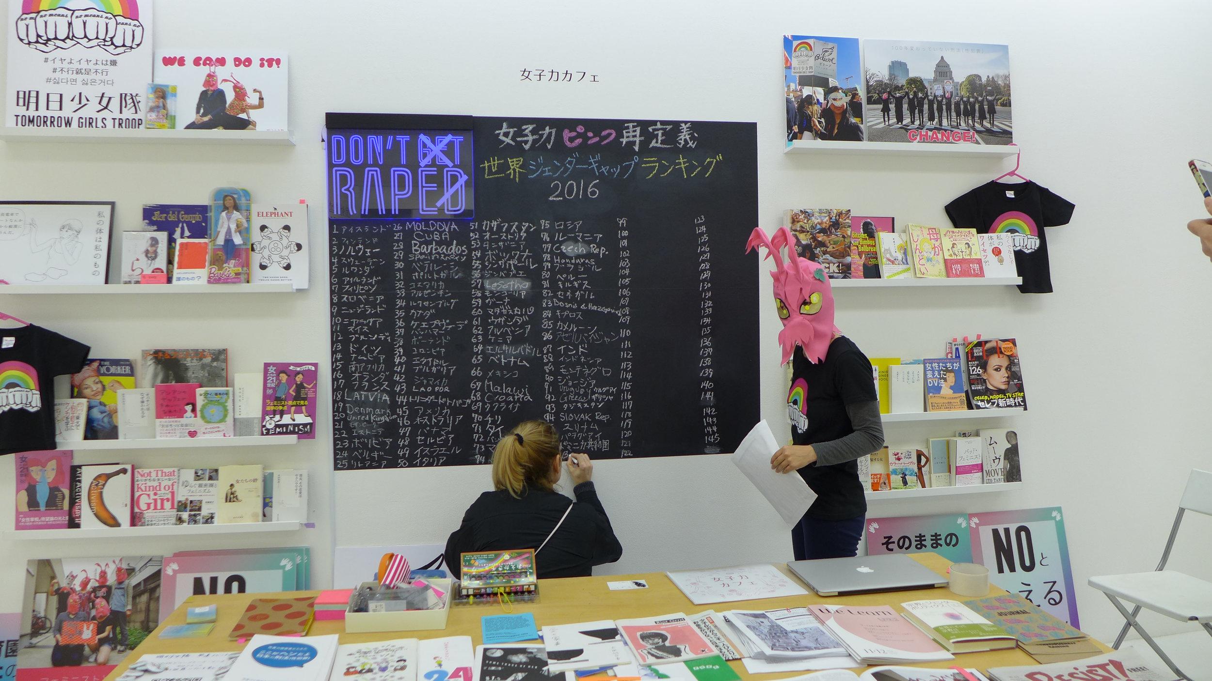 女子力 Cafe
