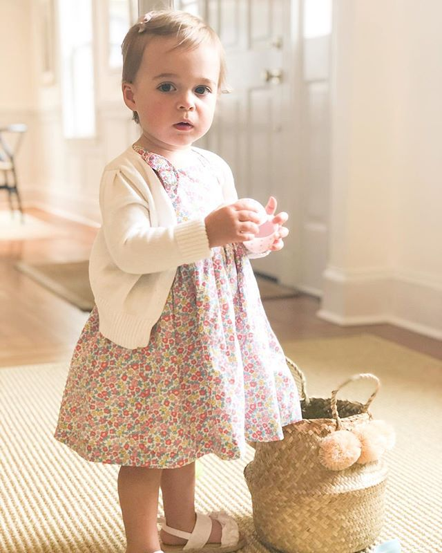 Happy Easter! 🐣🌸 🐰From our little bunny #littlegirllulu