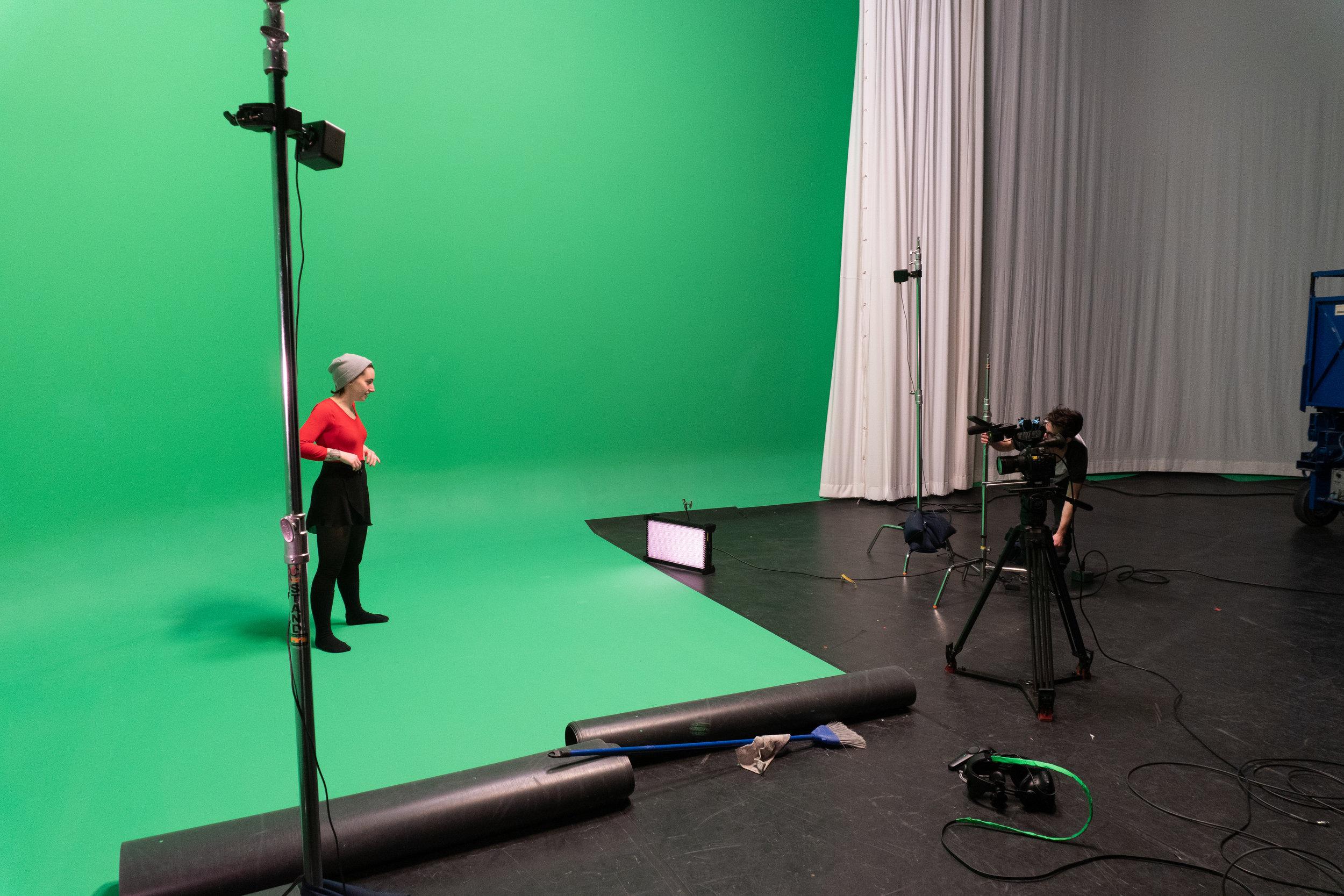 Setup for Final shoot
