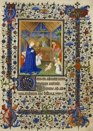 The Nativity British Library Add 16997 15th century