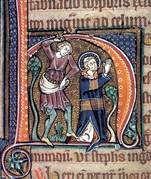 St Stephen British Library Stowe 12 14th century