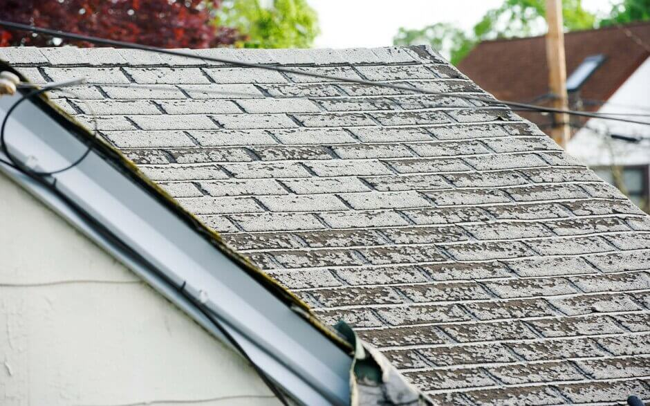 When is it time to fix a roof?