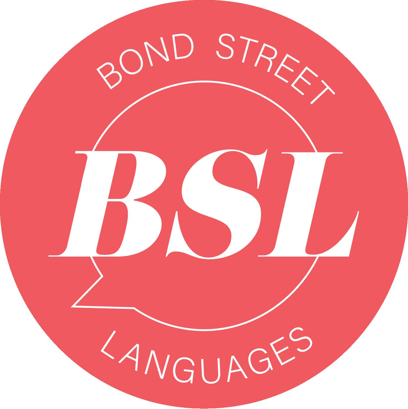 Bond Street Languages - stamp
