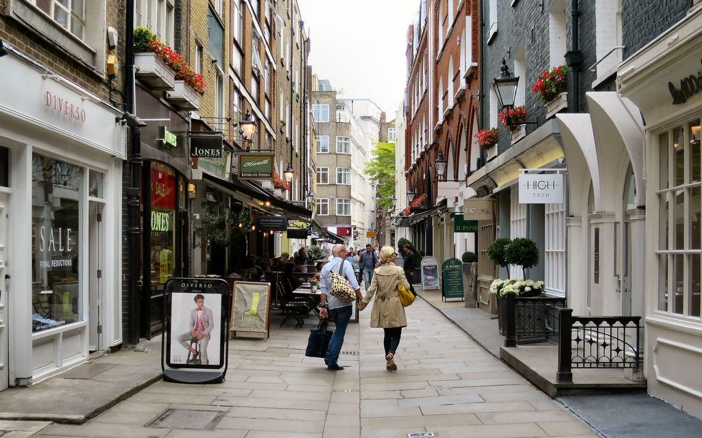 Bond Street Languages_Around_St Christopher's Place
