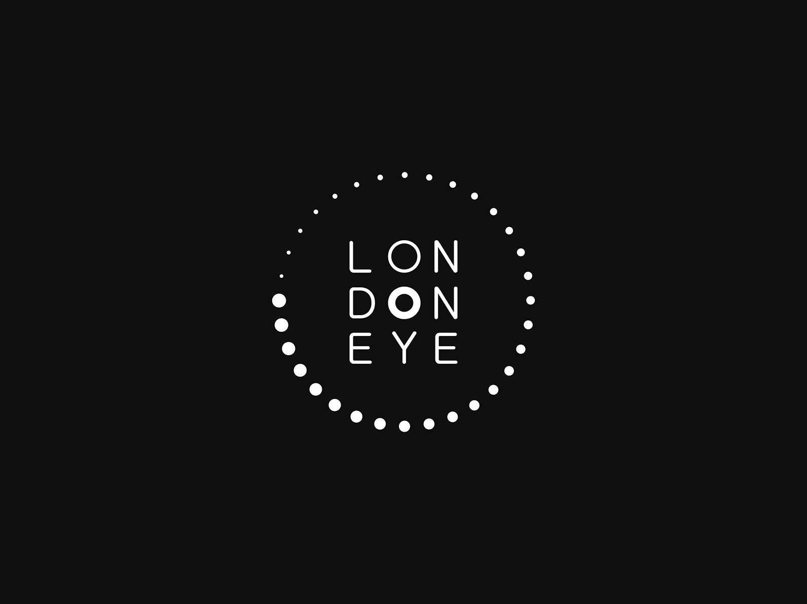 London Eye Logo Concept