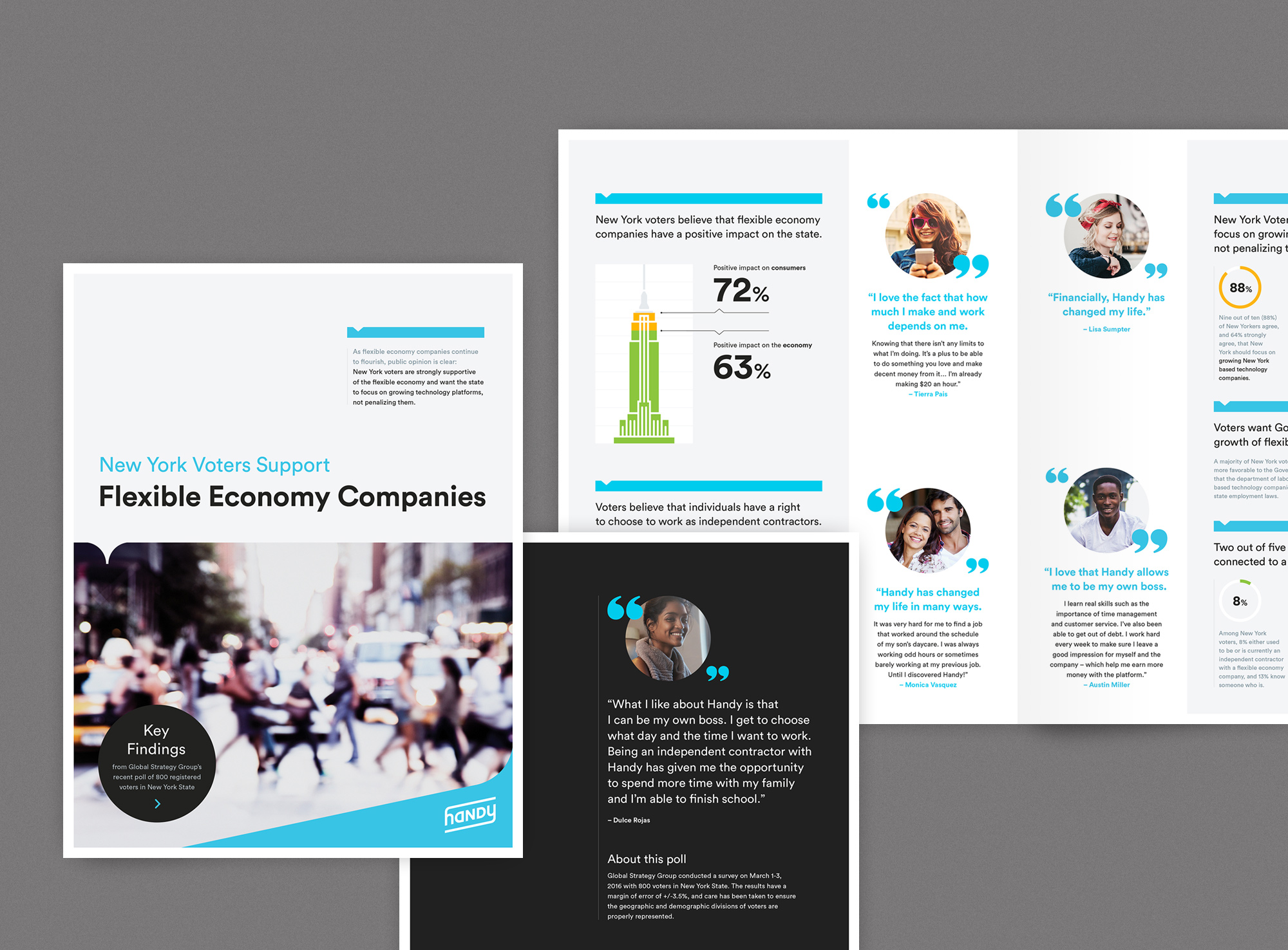 Flexible Economy Report Design