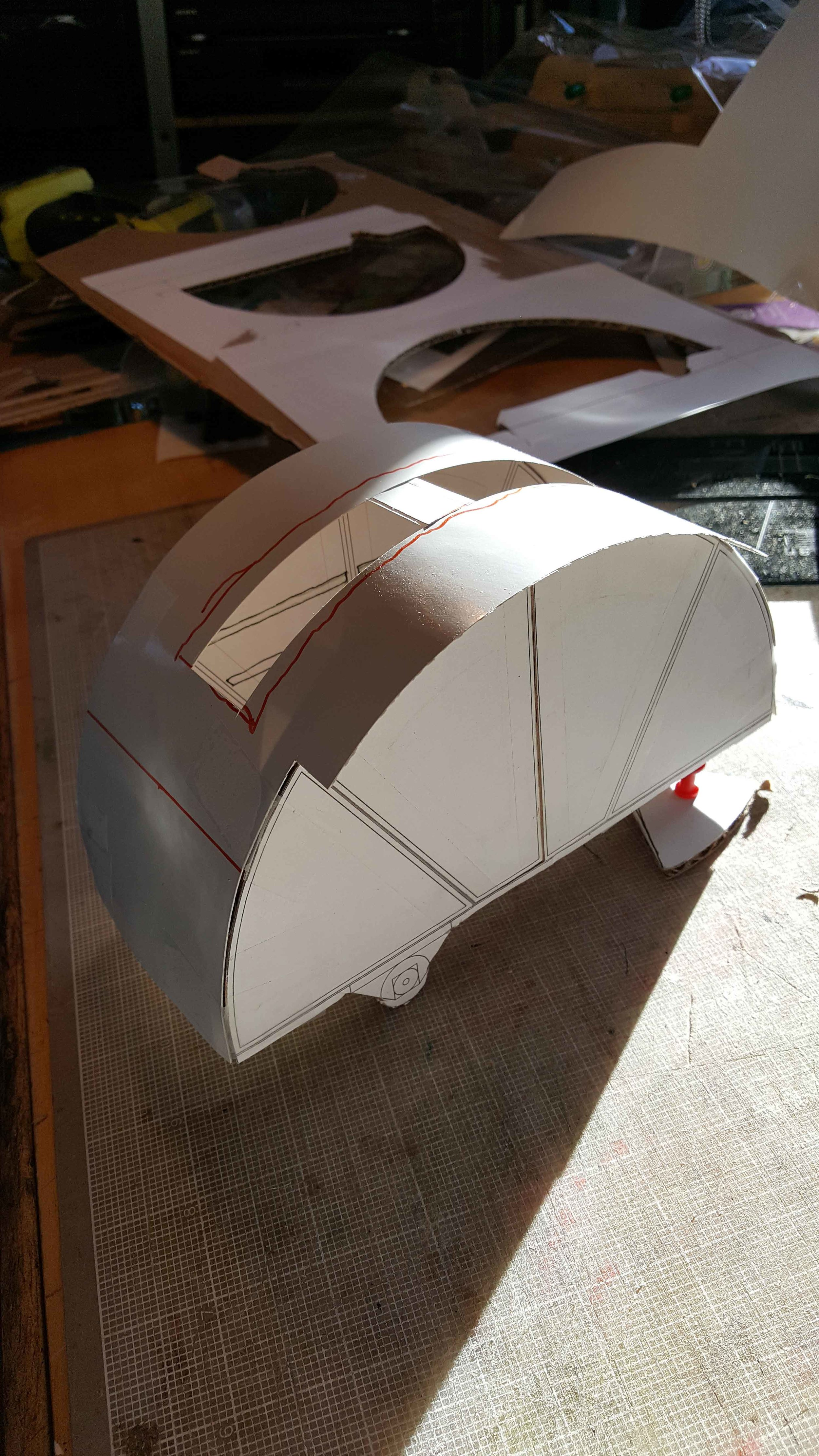 Initial scale model for the Turtle 'Dorothy' - Image 1