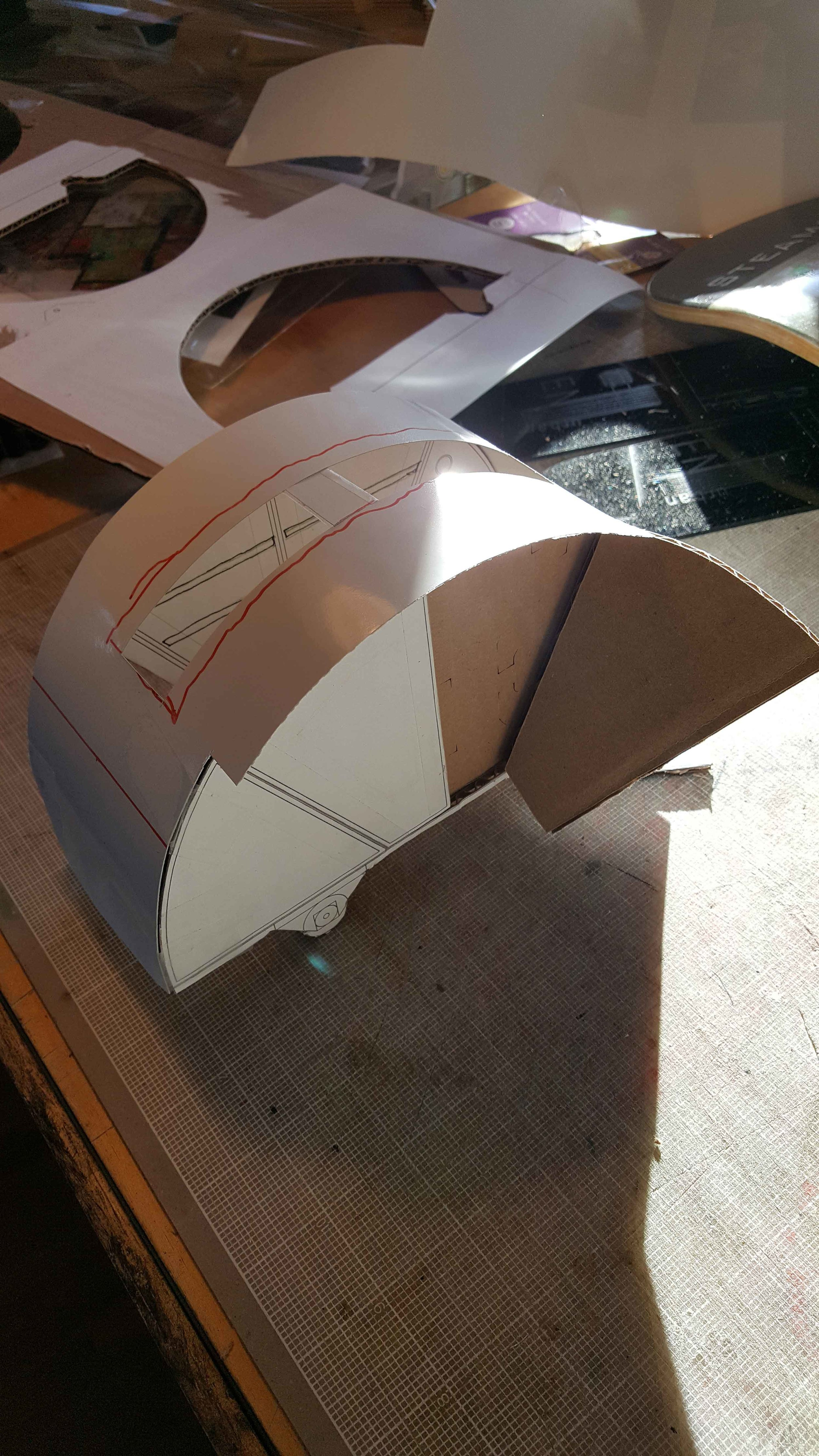 Initial scale model for the Turtle 'Dorothy' - Image 2