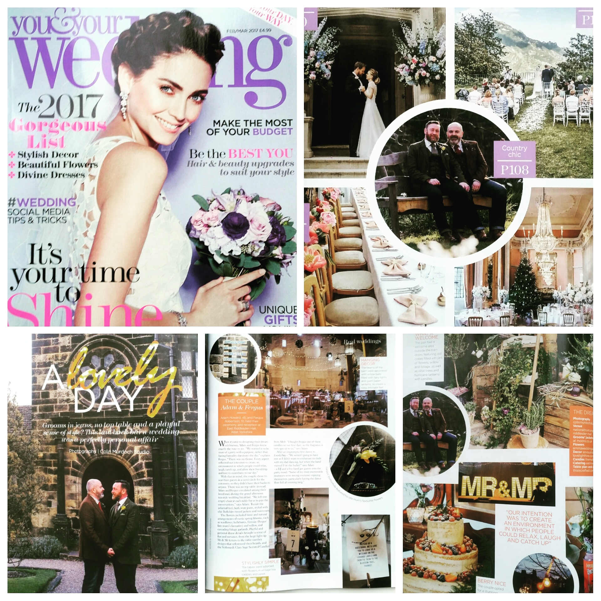 You and Your wedding mag article feature