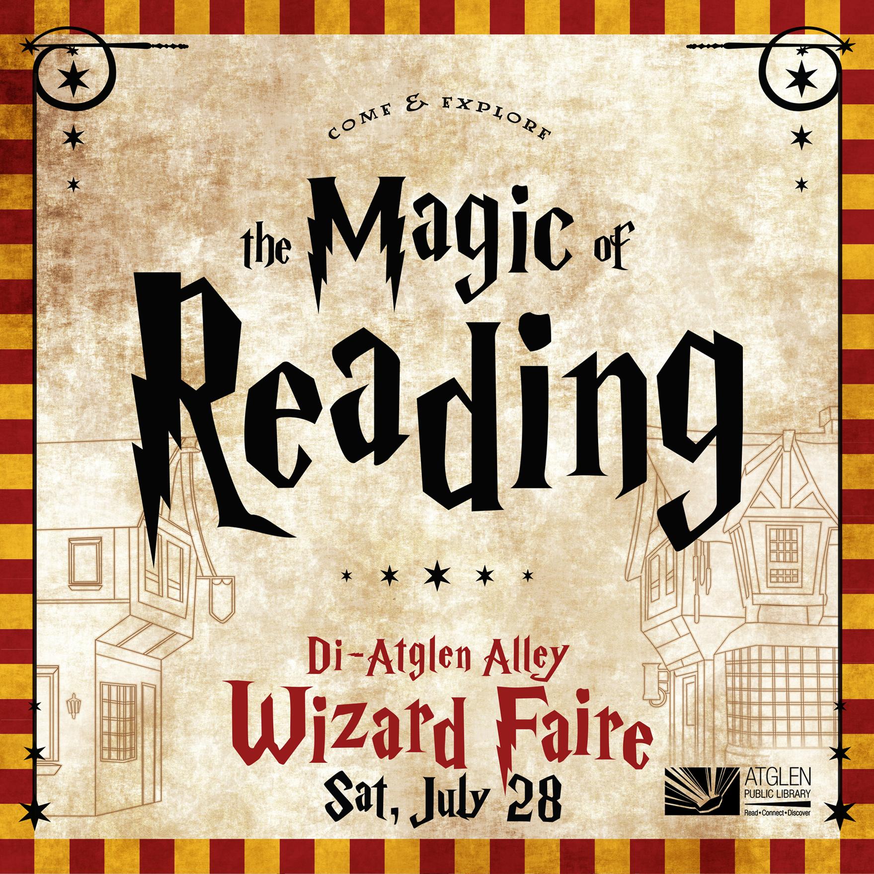 _  A Magical festival  event, print, social media