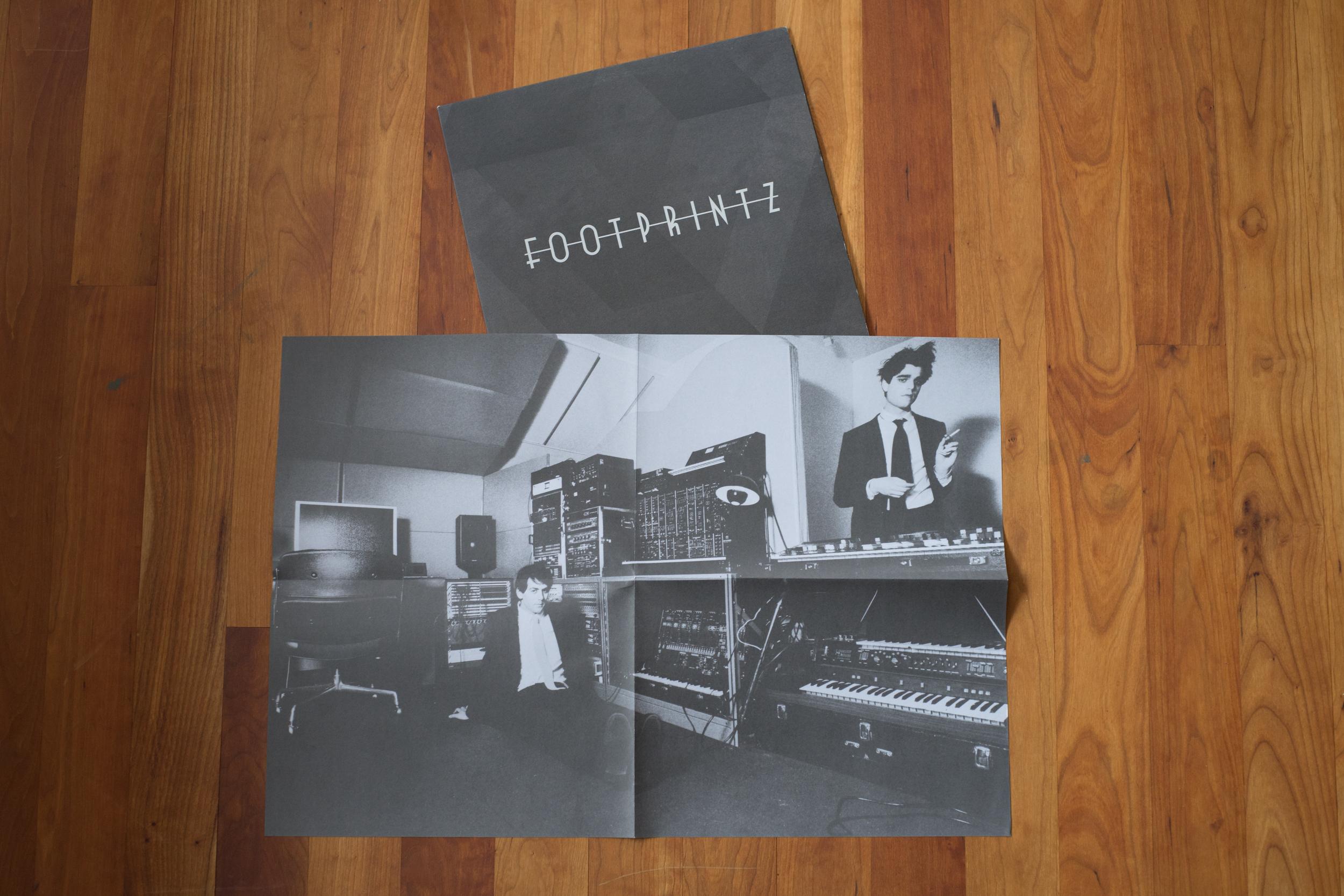 Insert Poster for Footprintz EP