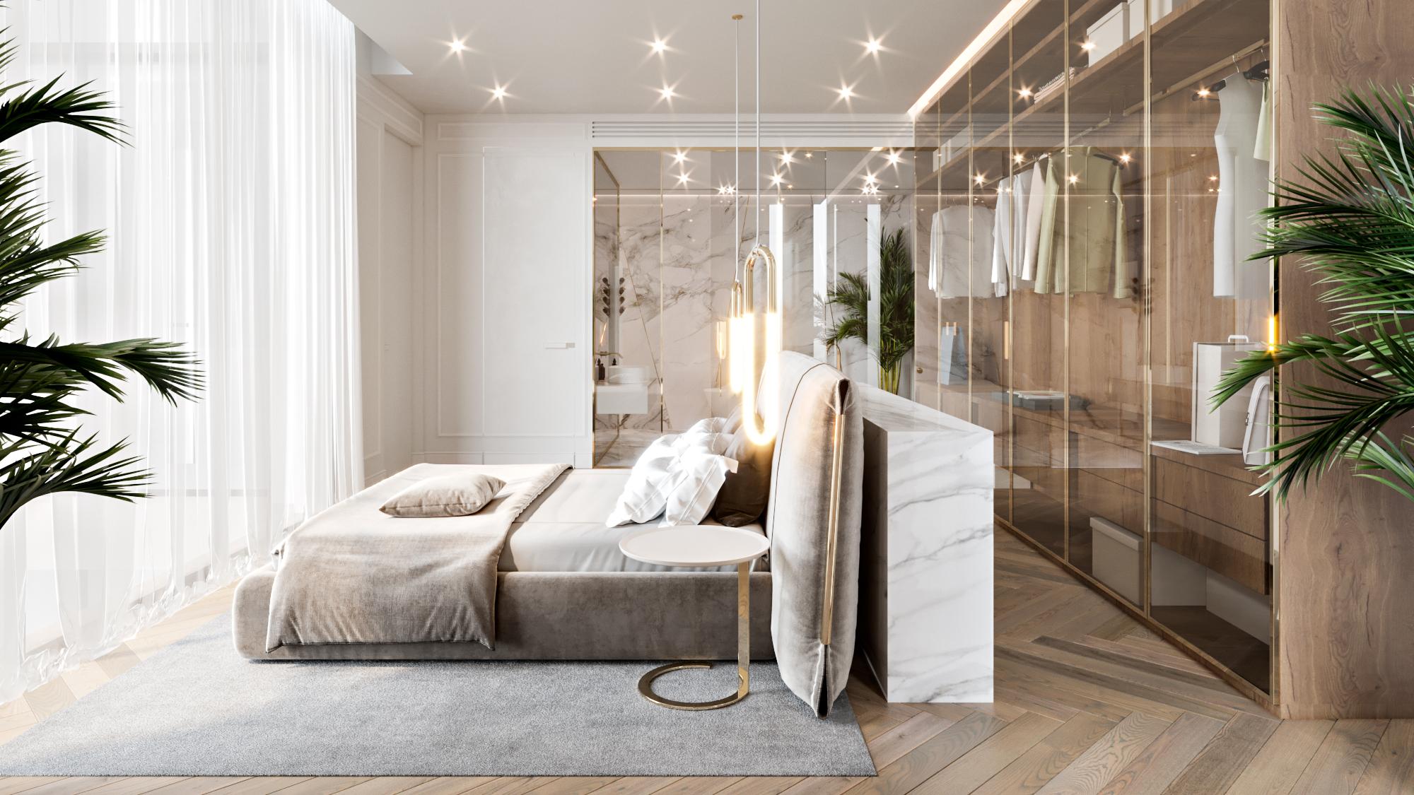 Ardh-Luxury Residential Villa-Dubai-Master Bedroom