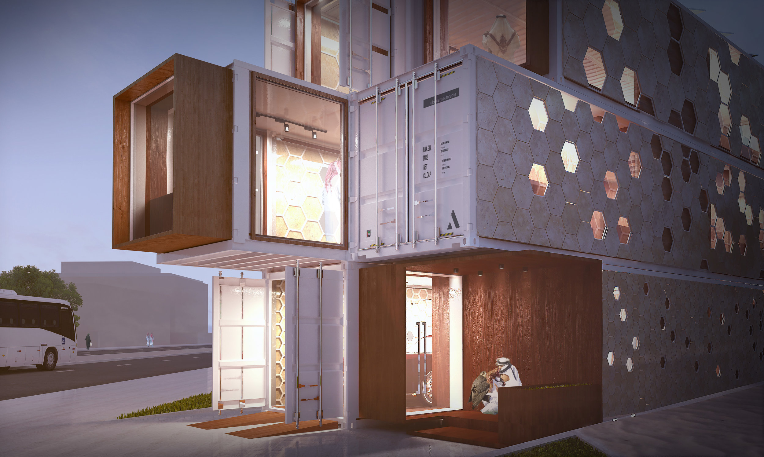 Ardh-container-residential-villa-Dubai-render