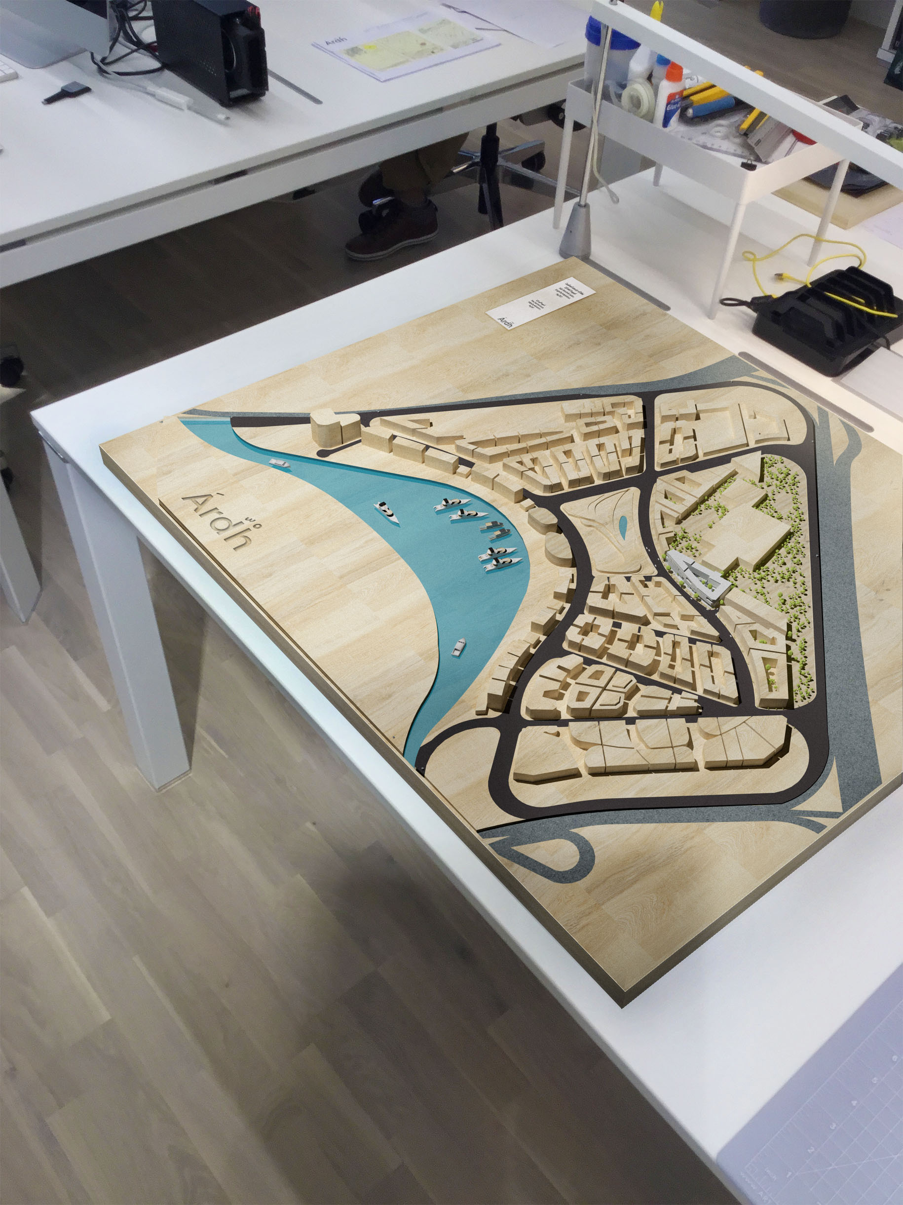 Ardh-University campus-Table Model-Dubai