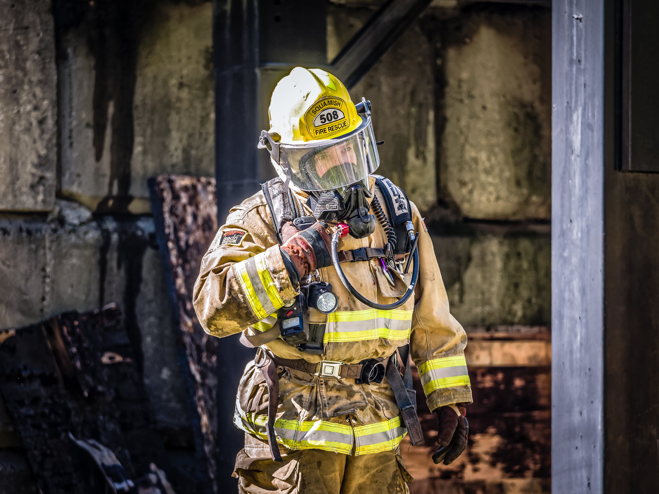 Jasmine firefighting in squamish