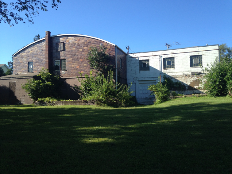 Above: The building in Blue Mounds that we thought was promising... until it sold to someone else.