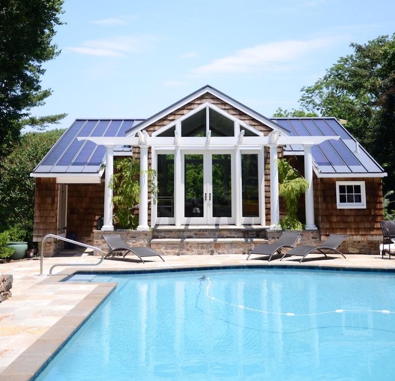 Arnold Pool House | Huntingdon Valley PA
