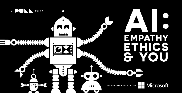 AI, Empathy Ethics & You - What does AI mean to you, your brand and your business? Artificial intelligence is the next big inflection point in our lives, in the same way the invention of the internet was. But, when it comes to business, how can we get our heads around this huge shift and not be left behind?I'm speaking on the topics of innovation in business, whilst making sure that AI remains ethically responsible. Alongside Phil Harvey, Cloud Solution Architect for Data & AI in One Commercial, Microsoft - Minter Dial, Tech speaker/author, ex MD of L'Oreal, International Professional Development Division and Chris Bullick, MD, The Pull Agency