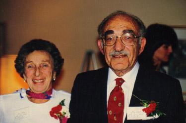 Elsie and David Palter - 1989