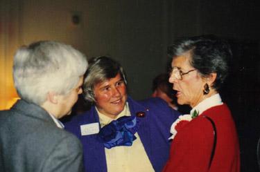 Jocelyn Palm, Viju Kanep, June Labbett - 1989