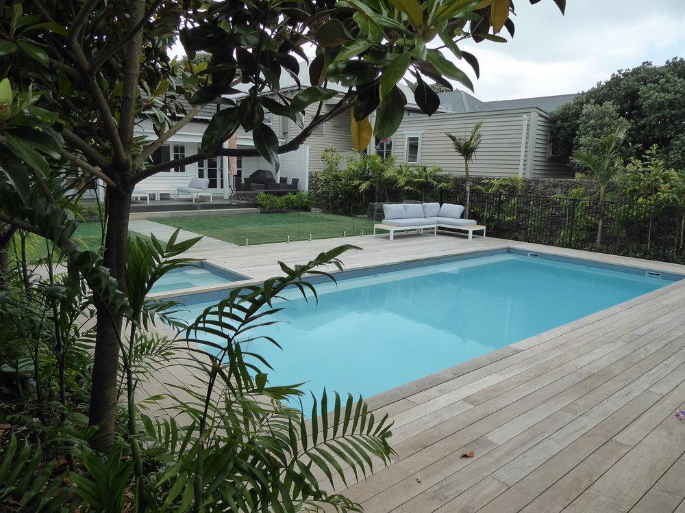 Caribbean Pool Garden