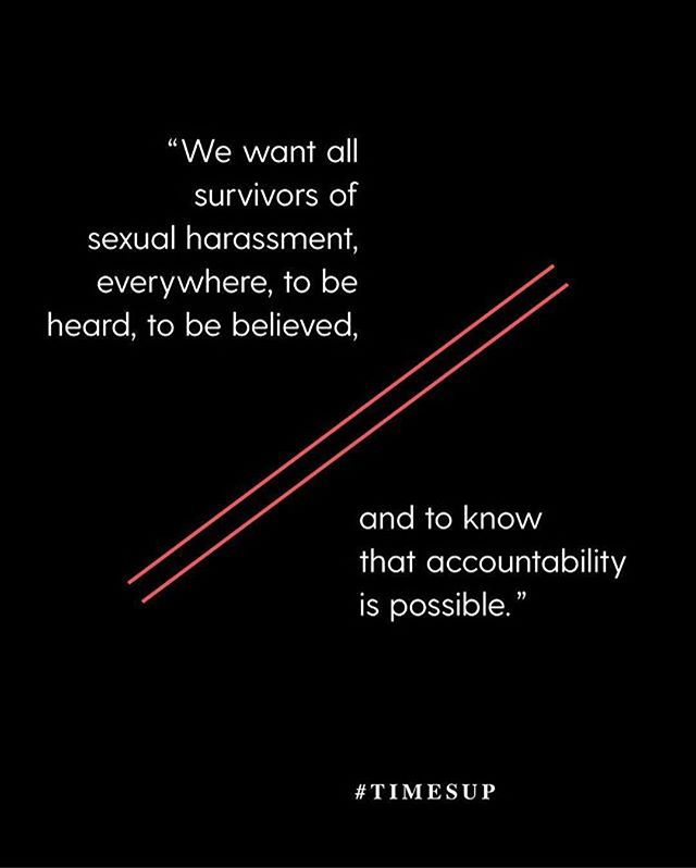 We just donated to this fabulous cause which funds legal defense for those who have experienced workplace sexual assault. You can learn about their mission, your rights, where to get help, & how to donate via their website - timesupnow.com/ ✊🏼 #TIMESUP @timesupnow