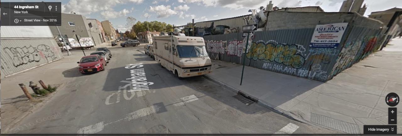 Google Street View, Nov. 2016