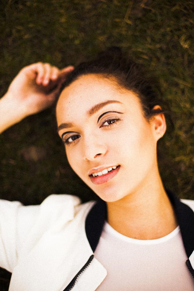 Portraits of musician Billie Black for Notion Magazine