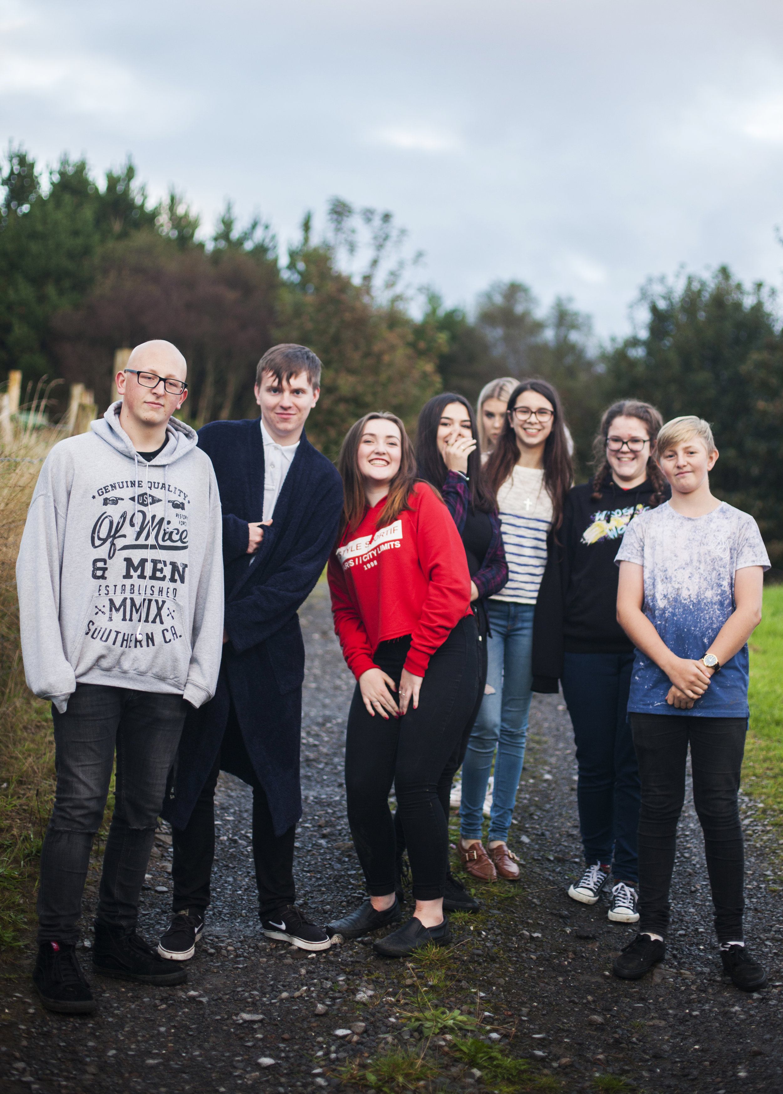 16 in 2016 for The Guardian. Photographers from China, USA, Denmark, Turkey, Iran and more, were commissioned to photograph 16 year olds in 2016. Nick was commissioned to photograph Welsh teenagers.