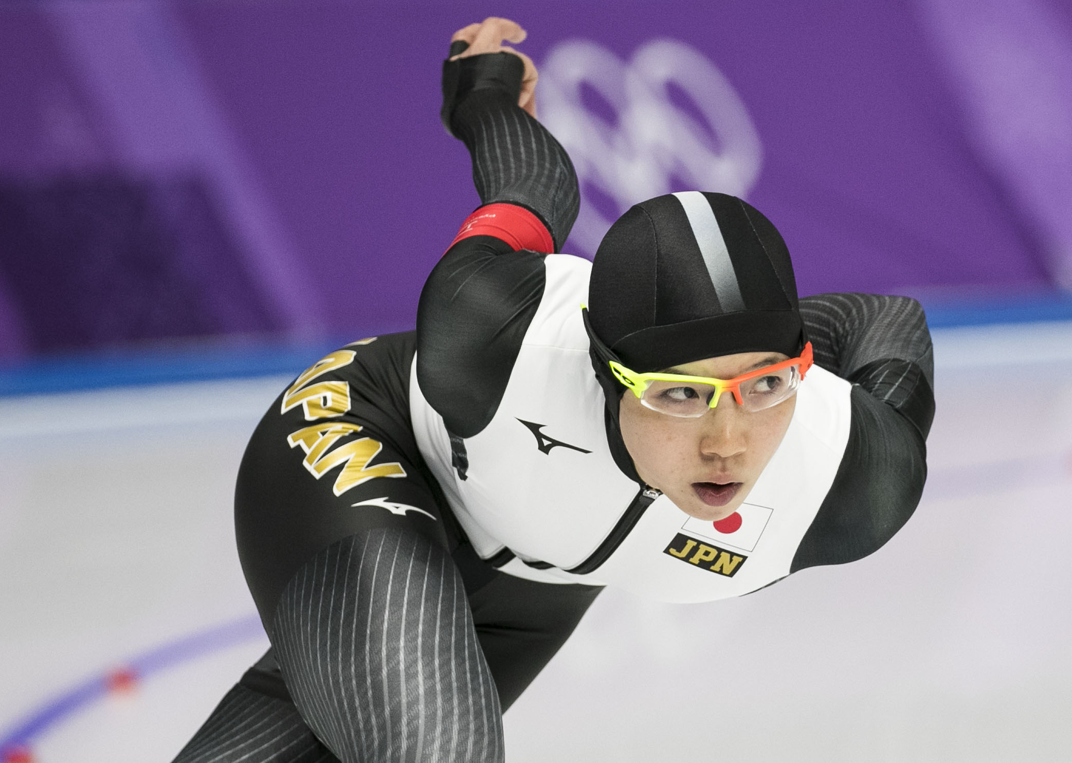 Ladies' USA long track speed skaters gathered at Gangneung Oval, Feb. 12, to compete for Olympic gold in the 1500 meters long track speed skate. From the Netherlands, Ireen Wust brings home the gold medal with a time of 1:54.35 making her the most decorated speed skaters in the world.