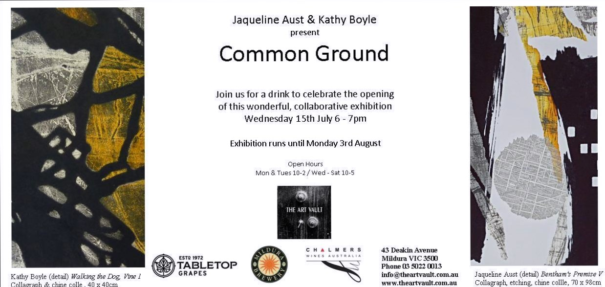 kathy-boyle-jacqueline-aust-common-ground-printmaking-collagraph-etching-chine-colle