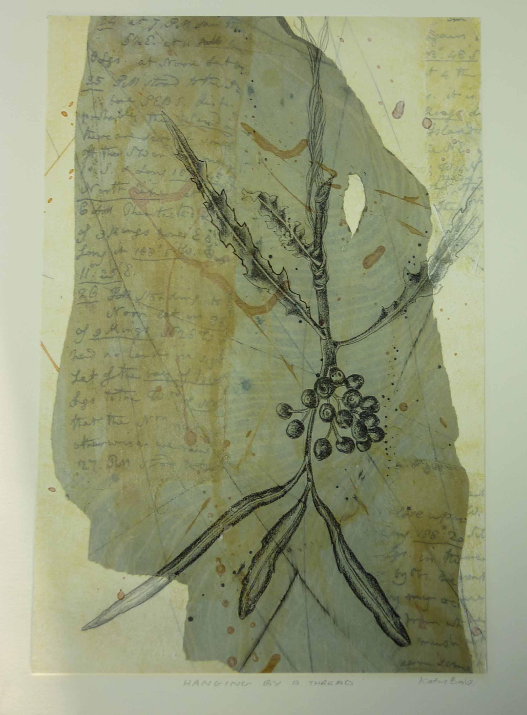 Hanging by a Thread, Kathy Boyle