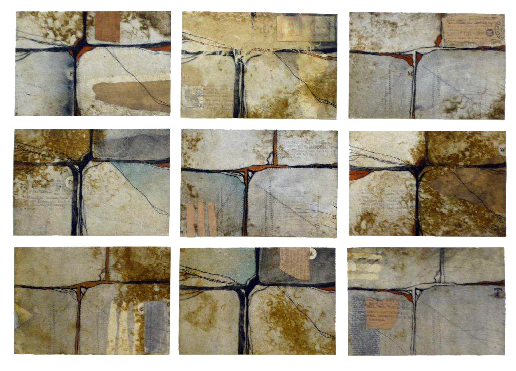 walking the dog, finalist New zealand printmaking and painting awards 2010