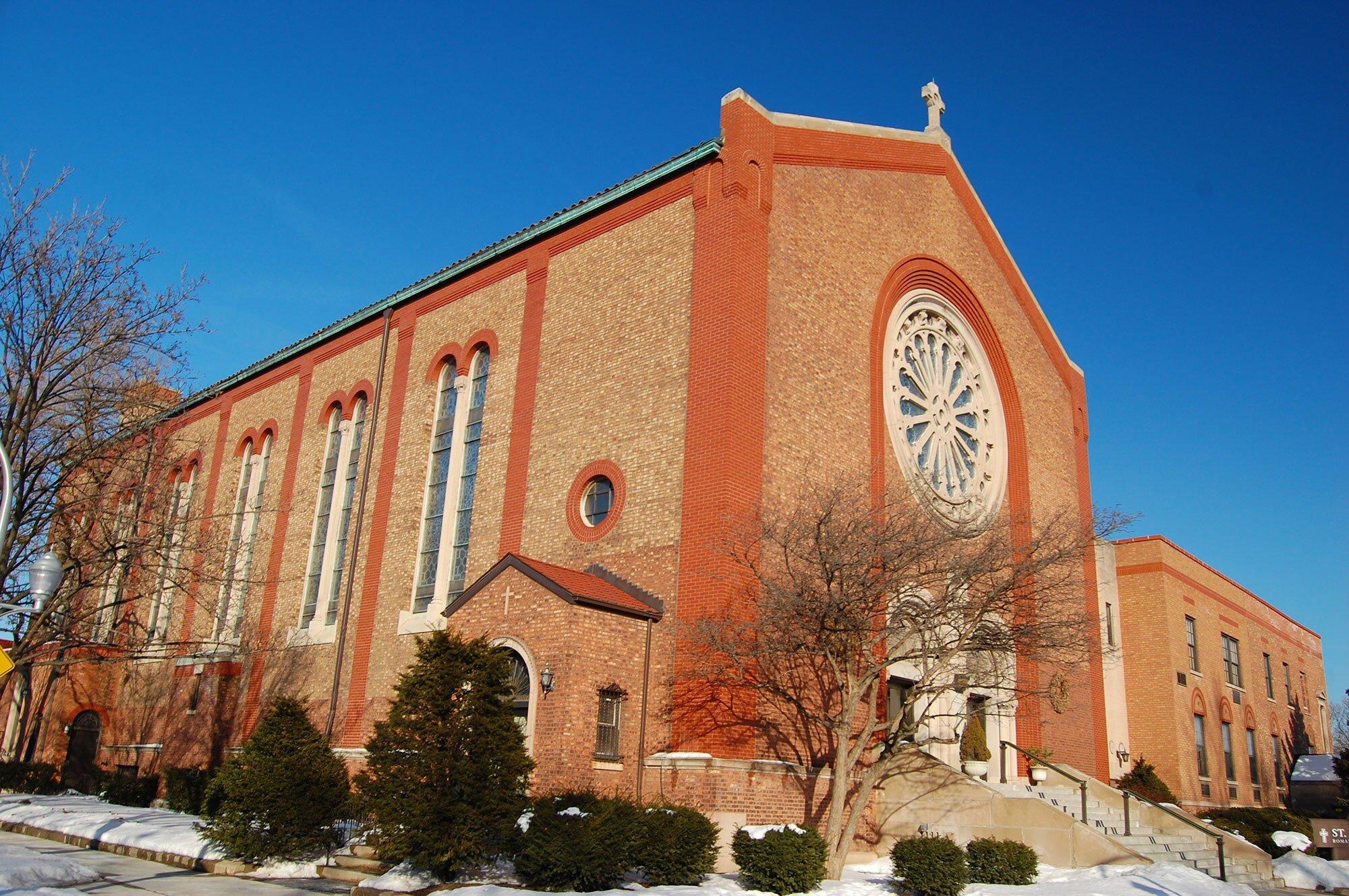 ST. EDWARD ROMAN CATHOLIC CHURCH - 4350 W. Sunnyside Ave.