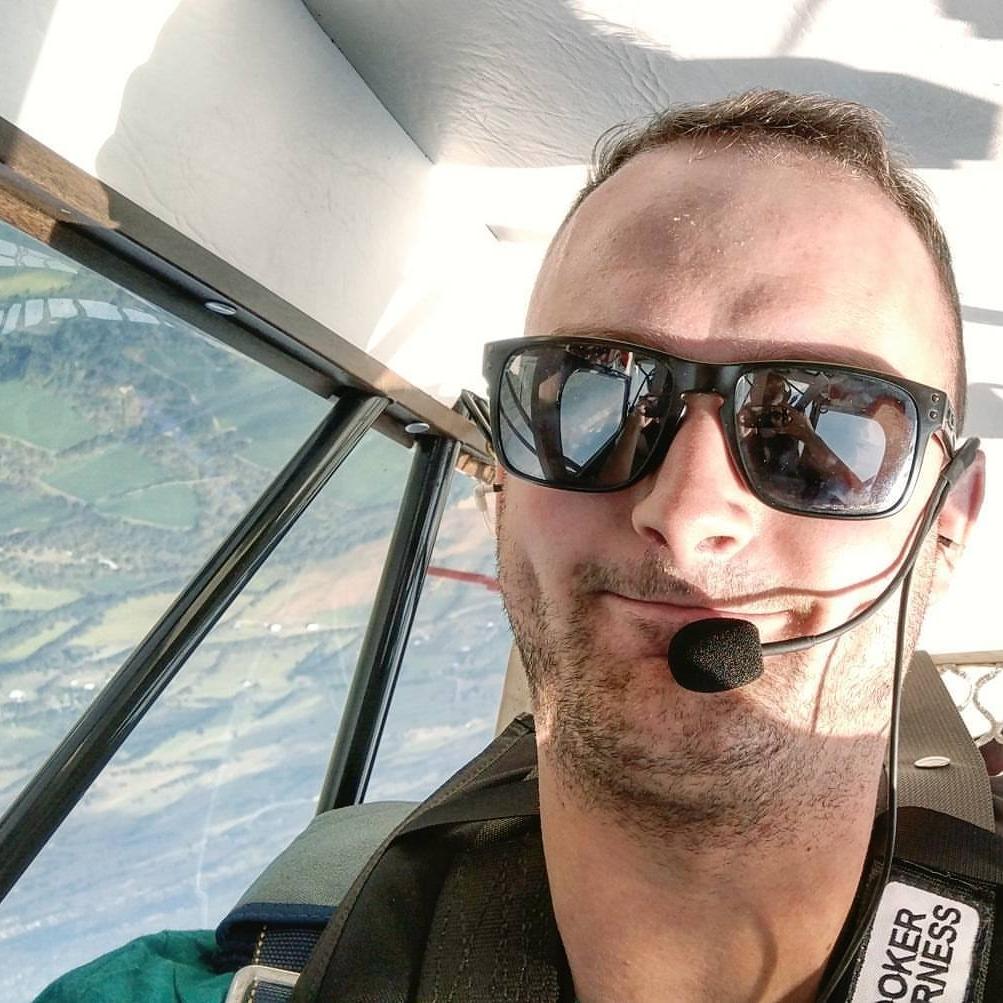 Weston Woodward, Commercial Pilot