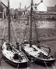 Clear decks of the Bristol Channel Pilot Cutter.
