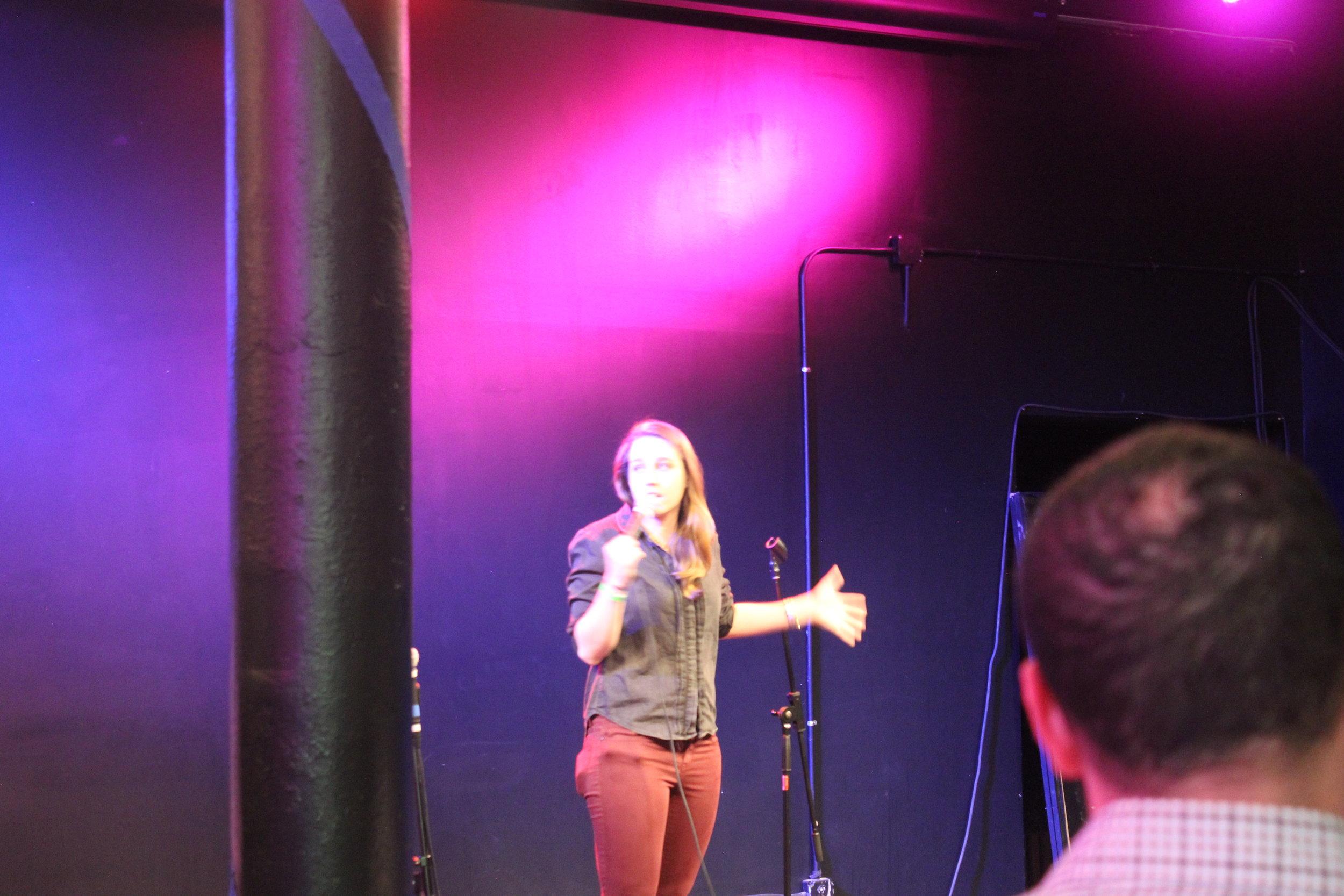 Guest comedian Morgan Miller.