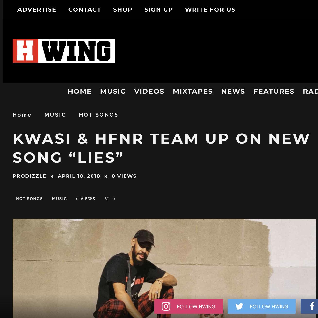 H Wing - April 18th 2018
